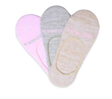 Women's 3 Pack Liner Socks (Fits US 5-9.5 Shoe)