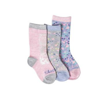 Girls' 3 Pack 1/2 Terry Low Cut Socks