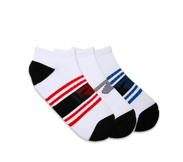 Men's 3 Pack 1/2 Terry Low Cut Socks (Fits US 6-12 Shoe)
