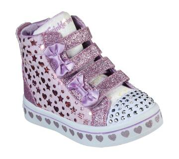 Infant Girls' Twinkle Toes: Twi-Lites - Heather & Shine