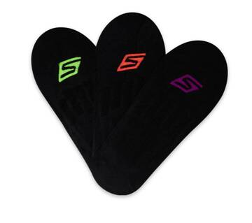 Womens 3 Pack Microfiber Liner Socks (Fits US 5-9.5 Shoe)
