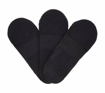 Women's 3 Pack Sport Cushion Liner Socks (Fits US 5-9.5 Shoe)