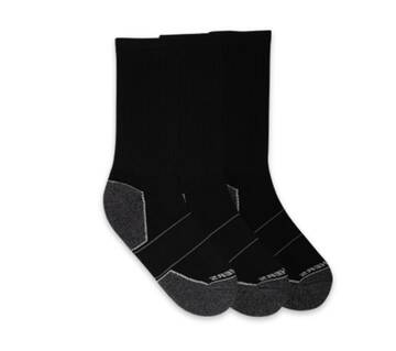 Men's 3 Pack Extended Crew Socks (Fits US 6-12 Shoe)