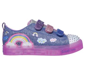 Girls' Twinkle Toes: Shuffle Brights - Rainbow Glow