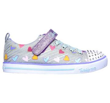 Infant Girls' Twinkle Toes: Sparkle Lite - Heart Sketch